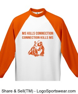MS kills connections with honey badger 3/4 sleeve Design Zoom
