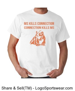 "Unisex Cotton Adult T-shirt ""MS KILLS CONNECTION"" Design Zoom"